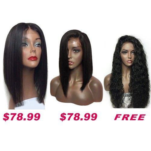Buy 2 Get 1 Free Curly Wigs Sale On Pack PWSF418