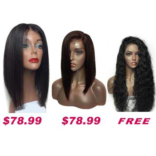Buy 2 Get 1 Free Curly Wigs Sale On Summer Pack PWSF418
