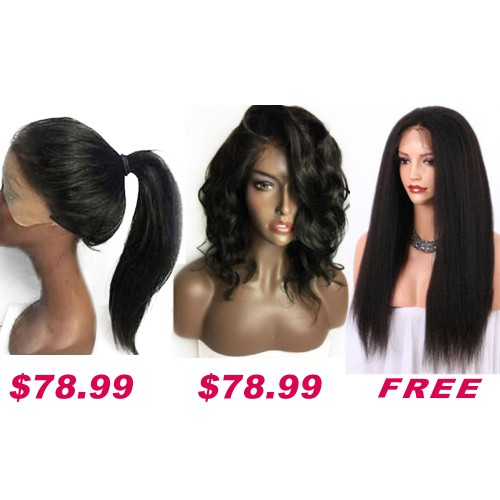 Buy 2 Get 1 Free Curly Wigs Sale On Pack PWSF421