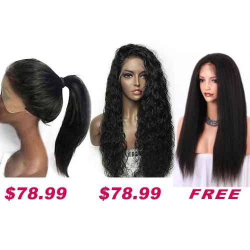 Buy 2 Get 1 Free Curly Wigs Sale On Summer Pack PWSF422