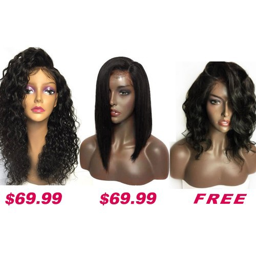 Buy 2 Get 1 Free Curly Wigs Sale On Pack PWSF423