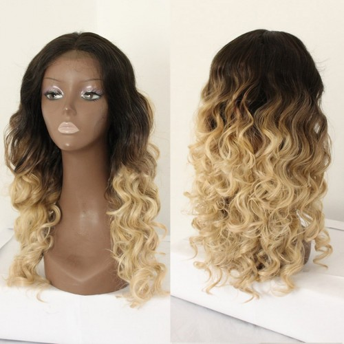 Lace Front Synthetic Hair Wig PWS427 Curly