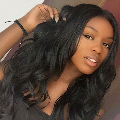 Lace Front Synthetic Hair Wig PWS440 Natural Wavy