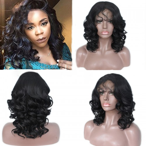 Lace Front Synthetic Hair Wig PWS444 Body Wavy