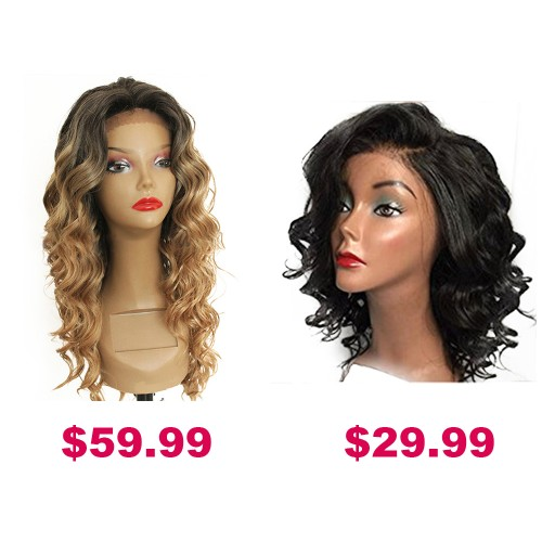 Buy One Get Second Half Price Synthetic Wig Pack PWSF452