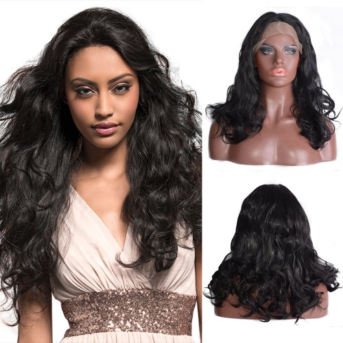 Lace Front Synthetic Hair Wig PWS492 Body Wavy