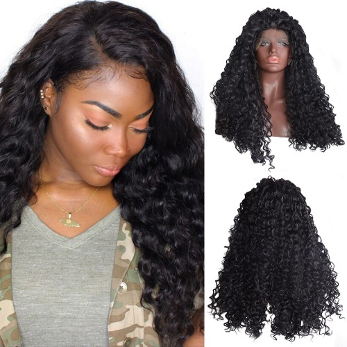 Lace Front Synthetic Hair Wig PWS494 Curly