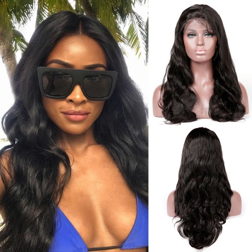 Lace Front Synthetic Hair Wig PWS499 Natural Wavy