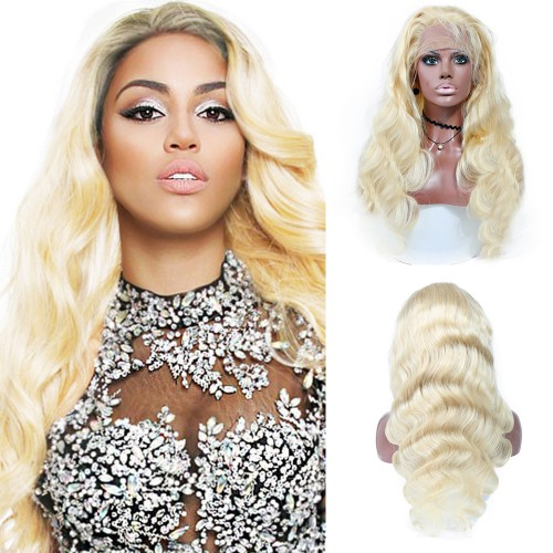 Lace Front Synthetic Hair Wig PWS505 Natural Wavy