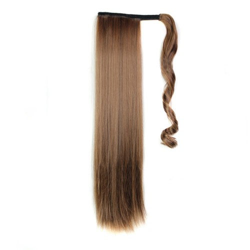 "24"" 190g #2/30 Synthetic Hair Straight Clip In Ribbon Ponytail"