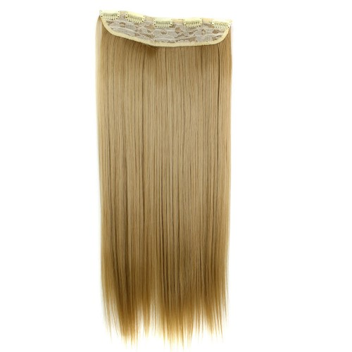 "24"" 120g #24M27 One Piece 5 Clips Straight Synthetic Clip in Hair"
