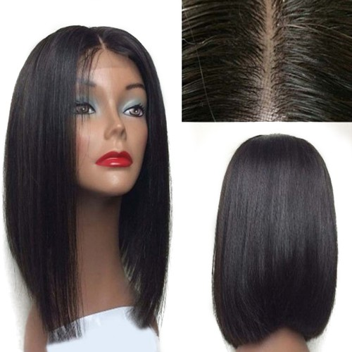 USA Stock Lace Front Synthetic Hair Wig PWS461 Straight