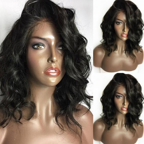 USA Stock Lace Front Synthetic Hair Wig PWS468 Curly
