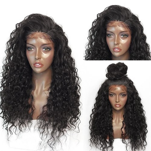 USA Stock Lace Front Synthetic Hair Wig PWS469 Curly