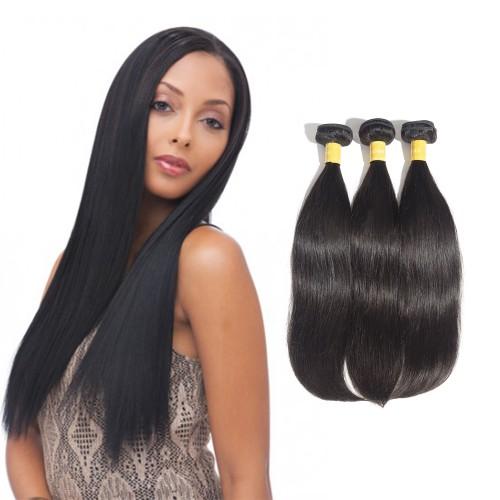 USA Stock Virgin Indian Straight Hair 3 Bundles