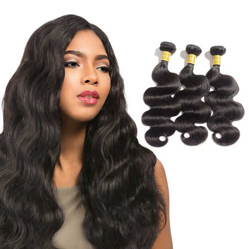 USA Stock Virgin Indian Body Wavy Hair 3 Bundles
