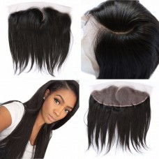 Pre Plucked C Part Lace Frontal 13x4 Brazilian Hair Straight
