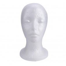 Styrofoam Head Model for Cosmetology Mannequin Manikin Practice