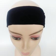 Velvet Wig Grip Black