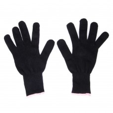 Black Heat Resistant Glove for Hair Styling HT14