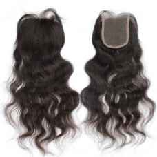 10-20 Inch Virgin Brazilian Hair Loose Wavy 4*4 Free Part Lace Top Closure