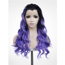 Synthetic Lace Front Hair Wig PWS345 Curly
