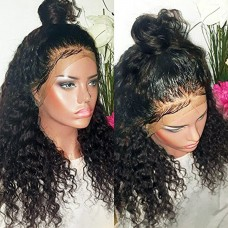 Lace Front Synthetic Hair Wig PWS403 Kinky Curly