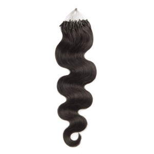 1 micro loop hair extensions hair extensions micro loop 15 100s 1gs body wavy micro loop hair extensions 1b natural black pmusecretfo Image collections