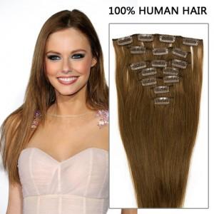 26 clip in human hair extensions best hair buy clip in hair extensions remy human hair straight light brown 7pcs clip in remy extensions 70g pmusecretfo Gallery