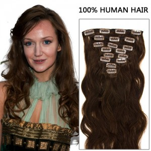 -20%  16 Inch 8pcs Exclusive Body Wavy Clip In Remy Human Hair Extensions  100g ( 4 eb86fccc73