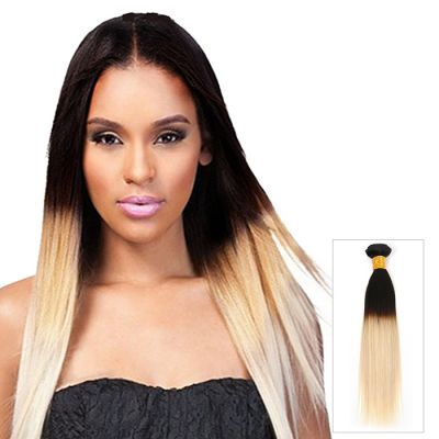 16 Inch - 26 Inch 1pcs/lot Two Tone #1B/613 Straight Indian Remy Human Hair 100g