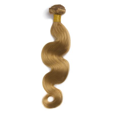 100g Body Wavy Brazilian Remy Hair #27 Strawberry Blonde