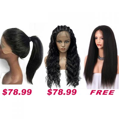 Buy 2 Get 1 Free Curly Wigs Sale On Pack PWSF422