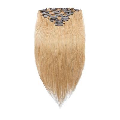 70g 16 Inch #27 Strawberry Blonde Straight Clip In Hair