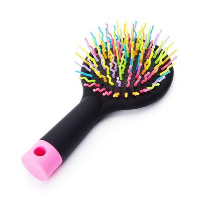Black Rainbow Hair Brush