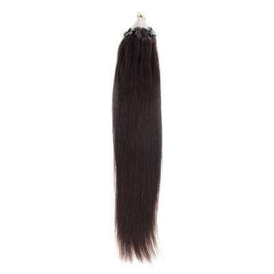 100s 1g/s Straight Micro Loop Hair Extensions #1B Natural Black