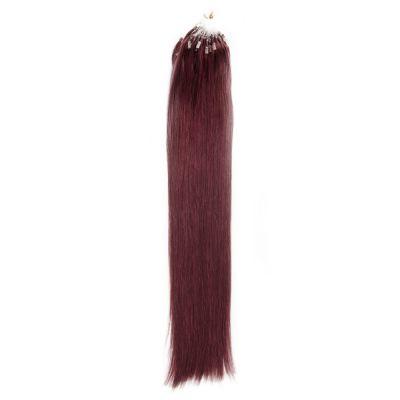 100s 1g/s Straight Micro Loop Hair Extensions #99J