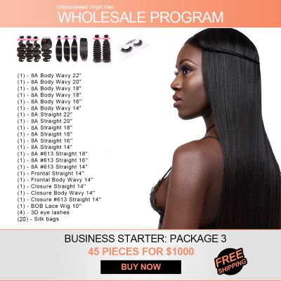 Start Hair Business for $1000 Wholesale Package 3