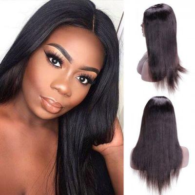 28 Inch Yaki Indian Remy Hair U part Wigs PWU25