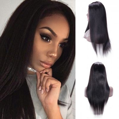 30 Inch Yaki Indian Remy Hair U part Wigs PWU26
