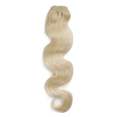100g Body Wavy Indian Remy Hair #60 Platium Blonde