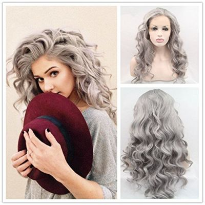Synthetic Lace Front Hair Wig PWS375 Body Wavy