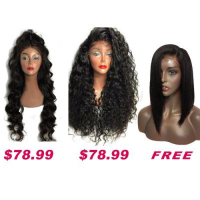 Buy 2 Get 1 Free Curly Wigs Sale On Pack PWSF420