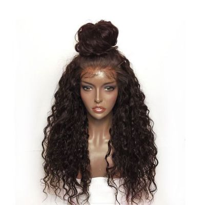 Lace Front Synthetic Hair Wig PWS425 Curly Brown