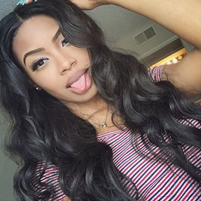 Lace Front Synthetic Hair Wig PWS443 Body Wavy