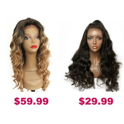 Buy One Get Second Half Price Synthetic Wig Pack PWSF451