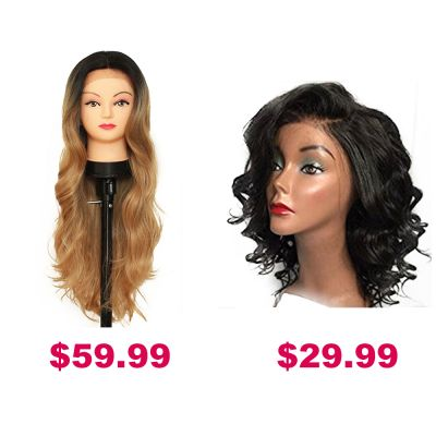 Buy One Get Second Half Price Synthetic Wig Pack PWSF454