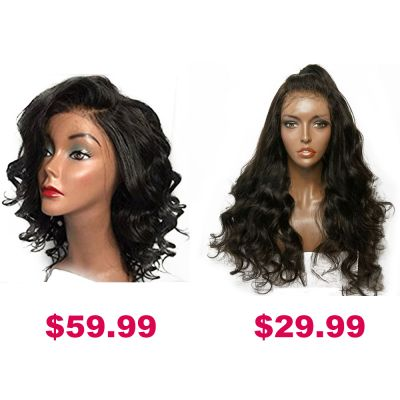 Buy One Get Second Half Price Synthetic Wig Pack PWSF455