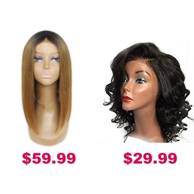 Buy One Get Second Half Price Synthetic Wig Pack PWSF456