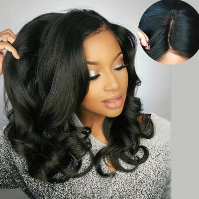 USA Stock 360 Lace Frontal Wig 150% Density Body Wavy Brazilian Virgin Hair